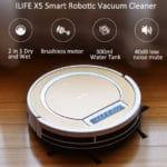 Παρουσίαση της iLife X5 ρομποτικής σκούπας.