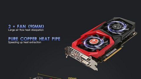 Colorful GTX1060 NB 3G Video Graphics Card 1544-1759MHz 3GB GDDR5
