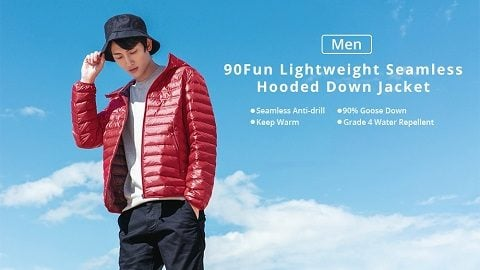 Xiaomi 90Fun Men's Hooded Down Jacket