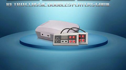 Mini Video Game Console (Retro - Nes Style)