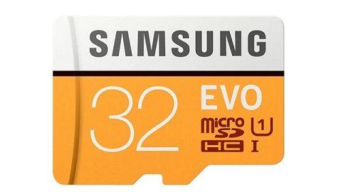 Samsung EVO PLUS Memory Card Micro SDXC 32GB U3 Class 10
