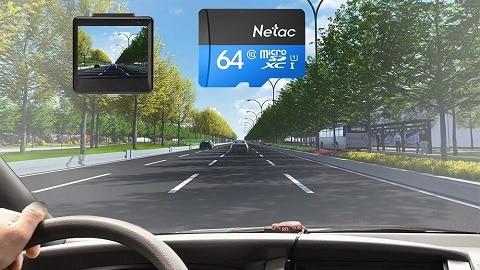 Netac P500 Class 10 64G Micro SDXC TF Flash Memory Card 80MB/s