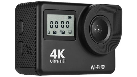 4K Ultra HD WiFi Sports Action Camera (30 Meters Waterproof)