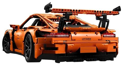 LEPIN 20001 2758pcs Technic Series Porsche 911 GT3 RS Race Car Model