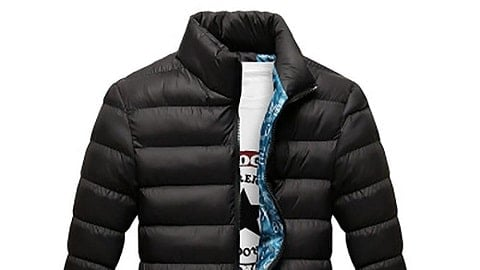 Men's Autumn and Winter Down Jacket Cotton-padded Coat