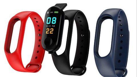 M3 Plus Smart Bracelet 0.96 TFT Touch Screen BT 4.0