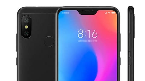 Xiaomi Redmi Note 6 Pro 4G Phablet Global Version 3GB RAM - BLACK