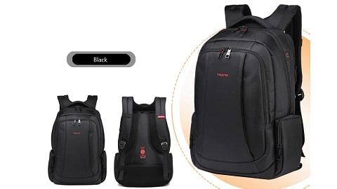 TIGERNU T - B3143 - 01 15.6 inch Business Laptop Backpack - COFFEE
