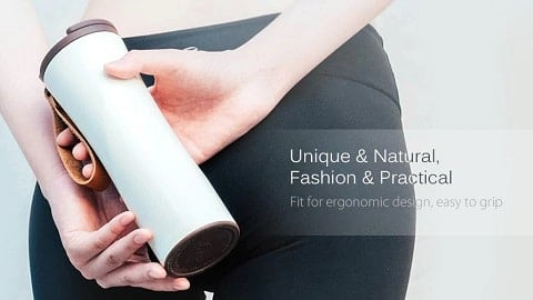 Xiaomi Portable Intelligent Thermal Vacuum Water Bottle from xiaomi youpin