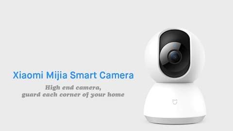 Xiaomi Mijia 1080P Home Panoramic WiFi IP Camera 360 Wide-angle