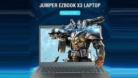 Jumper EZbook X3 Laptop 6GB RAM 64GB eMMC - GRAY