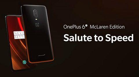 OnePlus 6T McLaren 4G Phablet  (10GB RAM 256GB ROM)- ORANGE