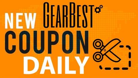 Νέα λίστα με κουπόνια από το GearBest, και όποιος προλάβει !
