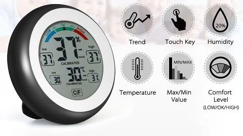 Ψηφιακό θερμόμετρο/μετρητής υγρασίας (Max Min Value Trend Display)