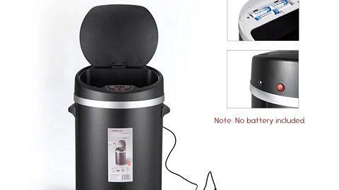 Comix L211 Automatic Sensor Touchless Trash Can 10L