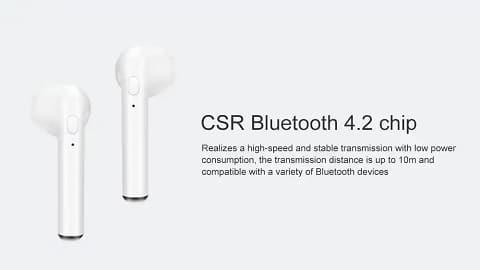 Gocomma i7s TWS Smart Wireless Bluetooth Earbuds
