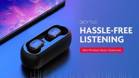Xiaomi QCY T1C Mini Bluetooth 5.0 Wireless Music Earphones