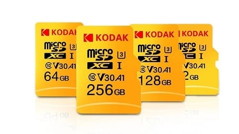Kodak Micro SD Card 128GB TF Card U3 A1 V30 Memory Card 100MB/s