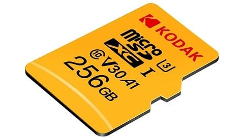 Kodak Micro SD Card 256GB TF Card U3 A1 V30 Memory Card