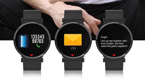 E28 Smart Watch (0.96 inch IPS Color Screen BT4.0)