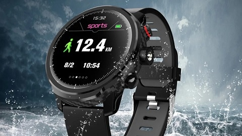L5 Smart Watch IP68 Waterproof Fitness Tracker