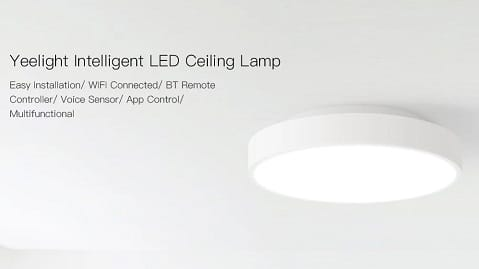 Yeelight AC220V 28W 240 LEDs Intelligent Ceiling Light