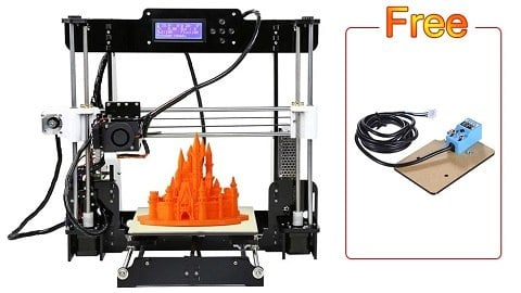 Upgraded Anet A8 High Precision 3D Printer Kit