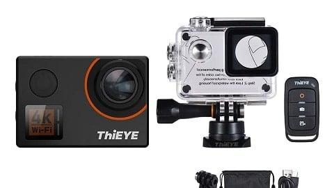 ThiEYE T5 Edge 4K WiFi Action Sports Camera