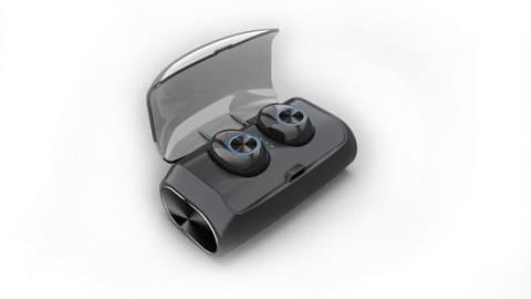 V6 TWS Mini Headphones True Wireless V5.0 In-Ear Earphone Stereo Headset