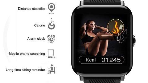OUKITEL W2 Smart Watch Fitness Watch