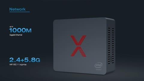 Beelink BT3-X Intel Apollo Lake J3355 4GB DDR4 64GB eMMC Windows 10 Mini PC