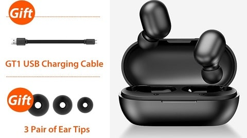 Xiaomi Haylou GT1 Mini TWS Earphone (Touch Control Wireless BT 5.0 Earbuds)