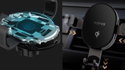 Xiaomi 70mai Midrive PB01 Wireless Car Charger Mount