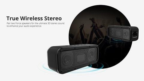 Tronsmart Force SoundPulse™ 40W Bluetooth Speaker IPX7 TWS & NFC 15 Hours Playtime