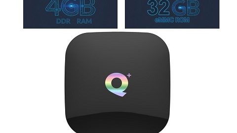 Q Plus Smart TV Box Android 9.0 Allwinner H6 4GB / 32GB 6K H.265 Media Player