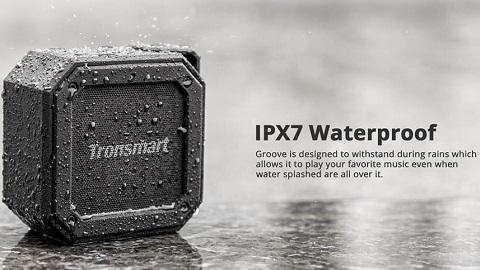 Tronsmart Element Groove(Force Mini) Portable Bluetooth Speaker IPX7 Water-resistant