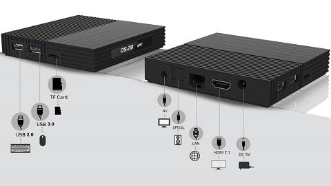 A95X F2 Amlogic S905X2 Android 9.0 4GB/64GB KODI 17.6 4K TV Box
