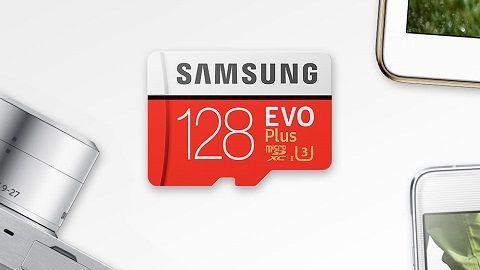 Samsung Memory 128GB EVO Plus MicroSDXC 100MB/s UHS-I (U3) Class 10