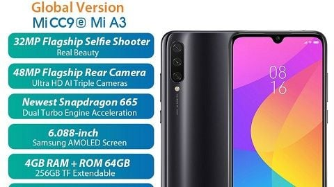 Global Version Xiaomi Mi A3 4GB 64GB Smartphone