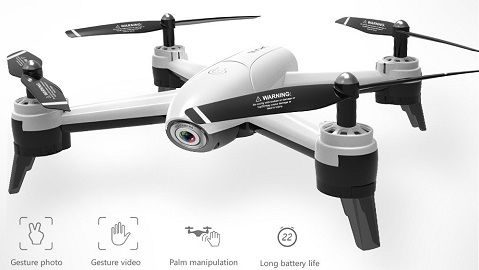 SG106 Optical Flow Drone with Dual Camera 4K Wide Angle