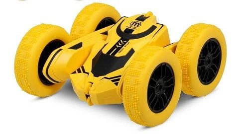 1/28 RC Stunt Car High Speed Tumbling Crawler Vehicle