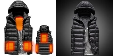 USB Heated Warm Security Intelligent Autumn and Winter Vest