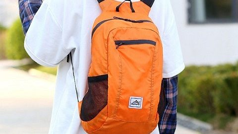 Lightweight Portable Foldable Backpack