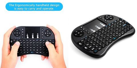 Mini Wireless Keyboard 2.4GHz with Touchpad Mouse