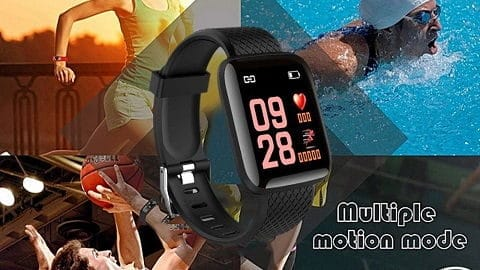 116Plus Intelligent BT Watch Fitness Tracker Universal Step Counter