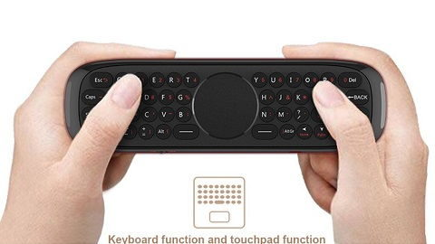 Wechip W2 2.4G Air Mouse Wireless Keyboard with Touchpad