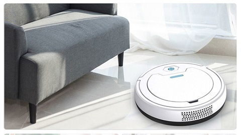 1800Pa Vacuum Robotic Cleaner Intelligent Sweeper