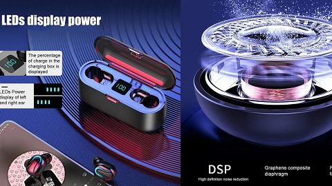 Q32-1 TWS 5.0 Stereo Wirelessly Earphone