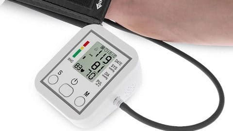 Blood Pressure Monitor Portable Household Arm Band Type