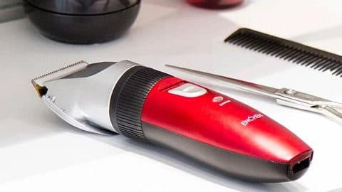 Xiaomi ENCHEN Sharp Hair Trimmer With Scissors Haircut Cloth
